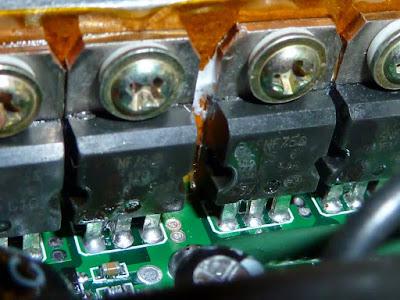 MOSFET PADA KONTROLLER MOTOR LISTRIK P75NF75