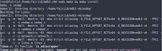proses install mdk3