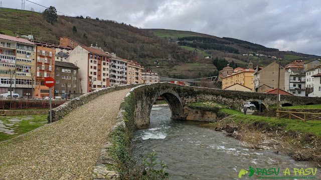 Puente Romano y Colgante en Cangas del Narcea