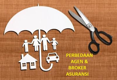 perbedaan agen dan broker asuransi