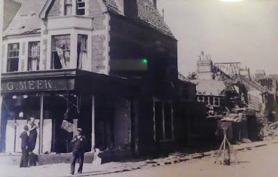 Albany Road, Cardiff, bomb