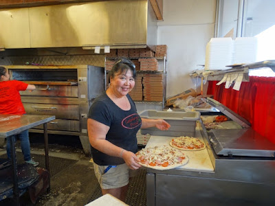 Catalano's Pizza by Stacey Kuhns