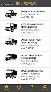 Sewa Truck Semakin Mudah Dengan Aplikasi On-Trucks