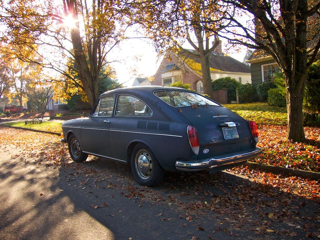 THE STREET PEEP: 1972 Volkswagen Type 3 Fastback