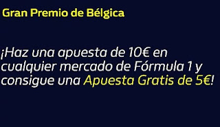 william hill Apuesta Gratis 5€ F1 Belgica 29-8-21
