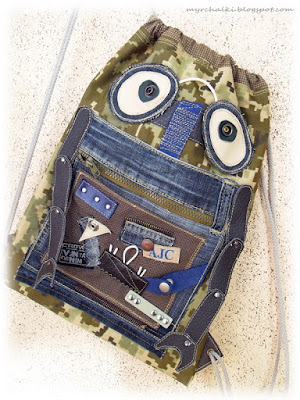 рюкзак Робот для мальчика