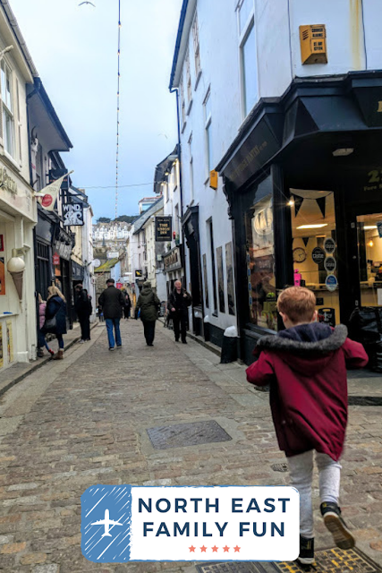 How to spend an evening in St Ives with kids