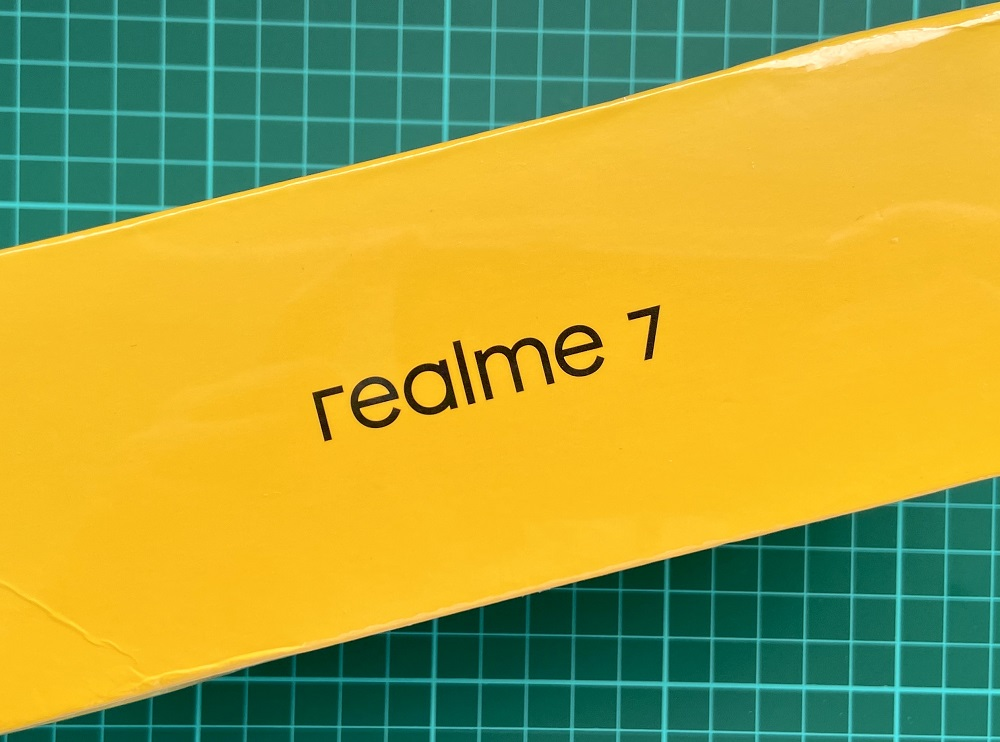 realme 7 Unboxing