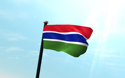 gambia flag bendera