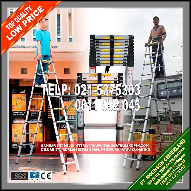 tangga-teleskopik-lipat-murah