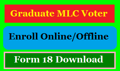 Telangana Teachers Graduates MLC Elections Voter Enrollment Registration Form Download @ceotelangana.nic.in or www.nvsp.in