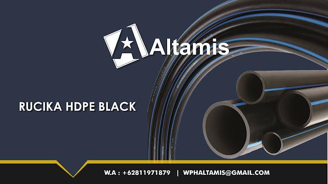 Pipa Rucika HDPE BLACK