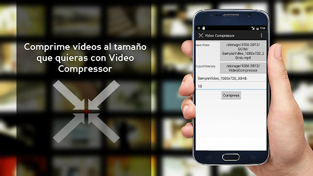 Comprime videos al tamaño que quieras Android