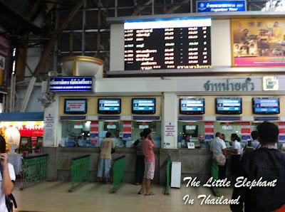 Booking your train ticket in Thailand in advance