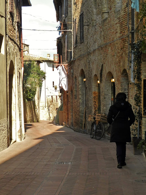 San Gimignano borgo medievale