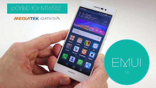 [MT6582] Huawei - EMUI v3.0 Port ROM For All Mediatek