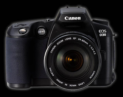 Canon EOS D30 DSLRダウンロードフルドライバー