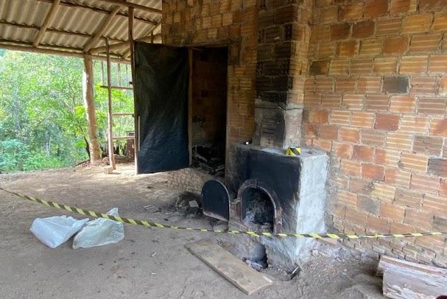 CRIME BÁRBARO: Mulher dopa marido e queima ele vivo em forno de fumo