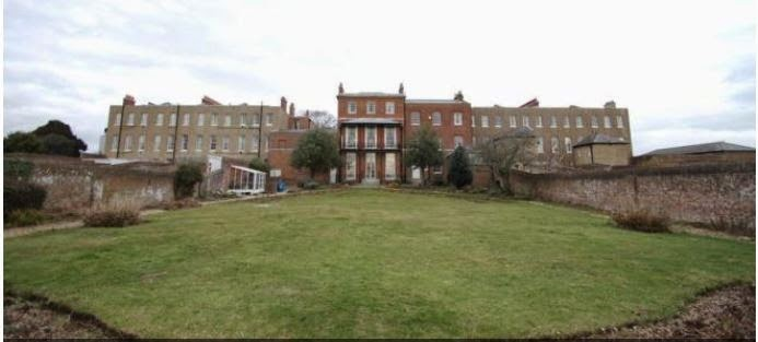 naval officers quarters gosport listed building