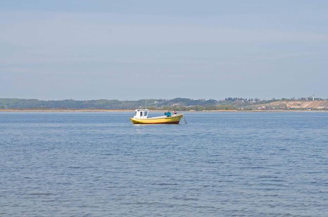 zatoka Pucka widok na morze z Rewy