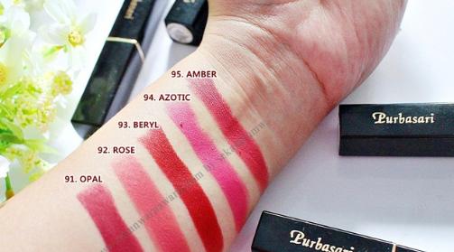 Review Harga Purbasari Matte Lipstick Lip Cream Untuk Kulit Kuning Langsat