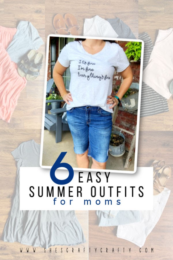 6 Easy Summer Outfit Ideas that are Cool and Comfortable