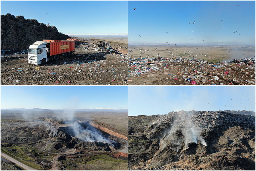 Diyarbakır'ın 25 yıllık çöp depolama sorunu çözülüyor