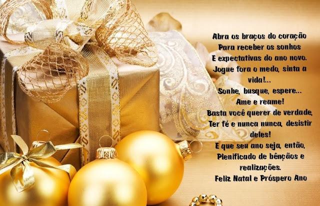 Mensagens de Natal para clientes e funcionários
