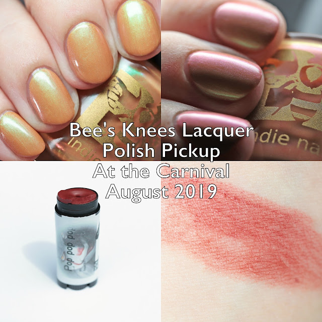 Bee's Knees Lacquer Polish Pickup At the Carnival August 2019