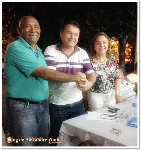 Decidido em Anapurus, ex-prefeito Riba Monteles é o vice de Júlio César