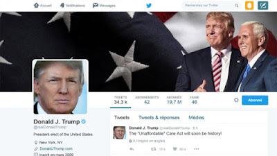 بعد مائة يوم على إستﻻم اﻹدارة ﻻتزال شبكة التواصل اﻹجتماعية هي الوسيلة اﻷولى لـ ترامب في النشر