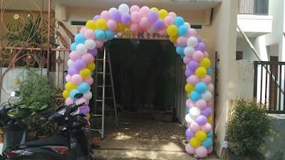 membuat balon gapura tangerang