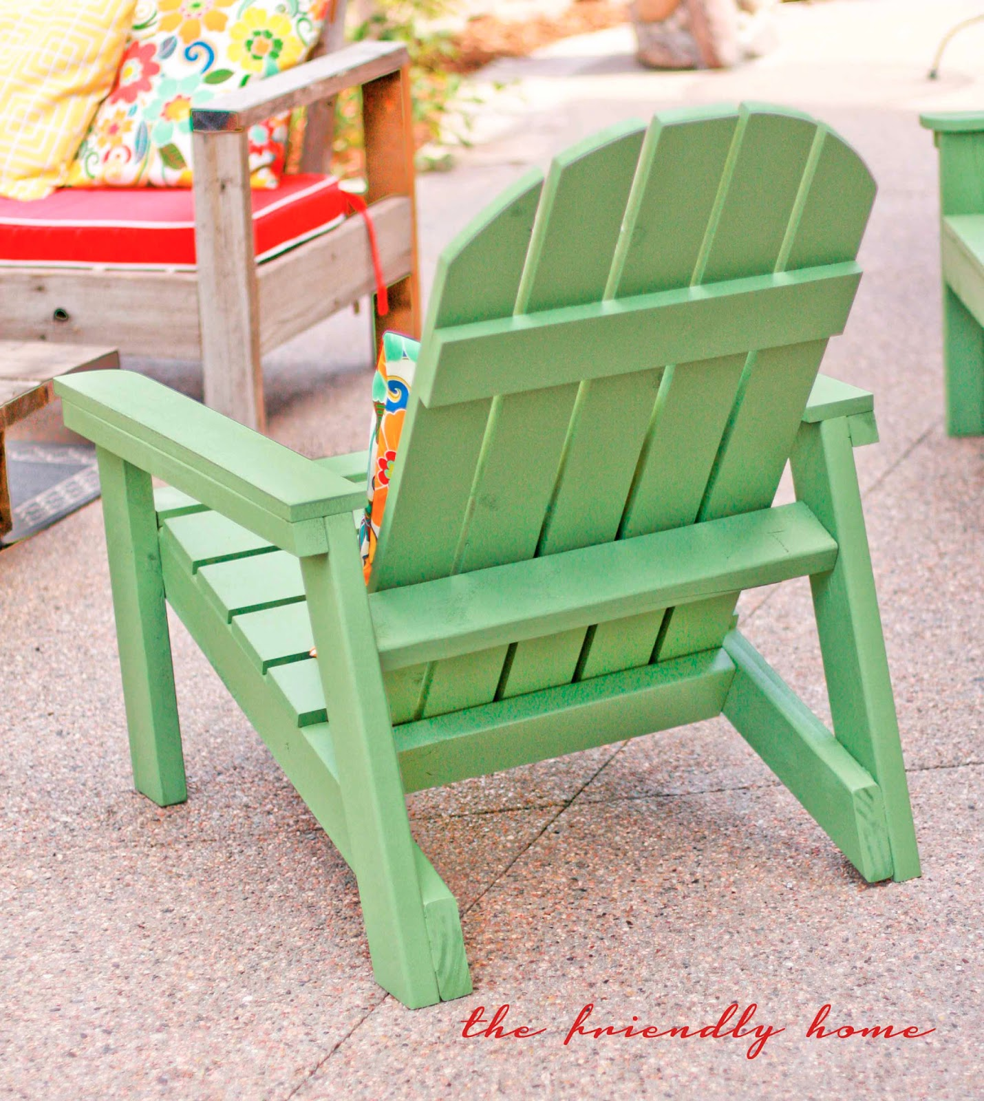 Diy Adirondack Chair Kit Pink Side Chairs