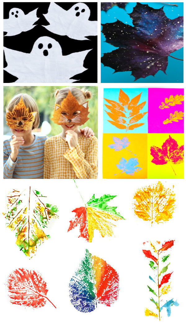 30+ Autumn leaf crafts for kids #fallleafcraftsforkids #leafcrafts #fallartprojectsforkids #growingajeweledrose #activitiesforkids