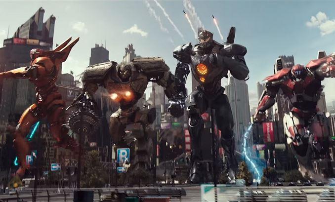 Pacific Rim Uprising Jaegers