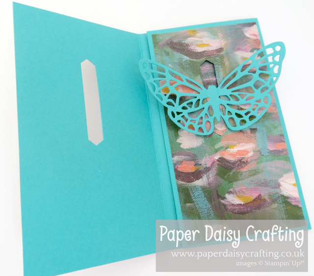 Springtime Impressions Butterfly Pop Up Card Stampin Up