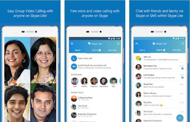 تحميل تطبيق سكايب لايت Skype Lite للأندرويد