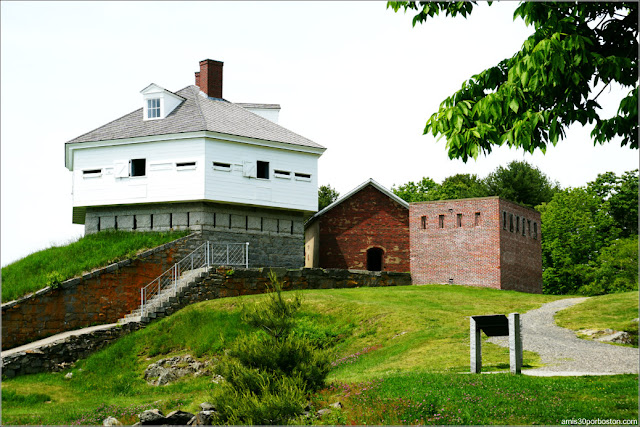 Fort McClary en Kittery Point, Maine