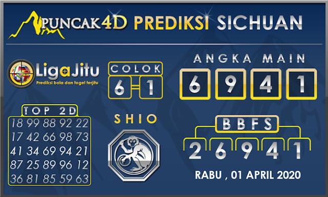 PREDIKSI TOGEL SICHUAN PUNCAK4D 01 APRIL 2020