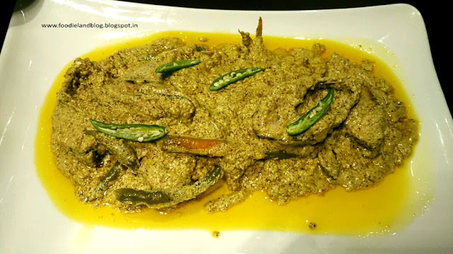 Ilish Bhapa @ Flavours of Bengal Food Festival @ Nook | Aloft CBP | Bangalore