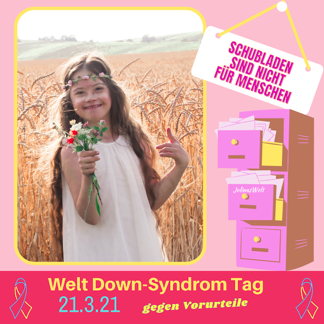 Poster Welt Down Syndrom Tag