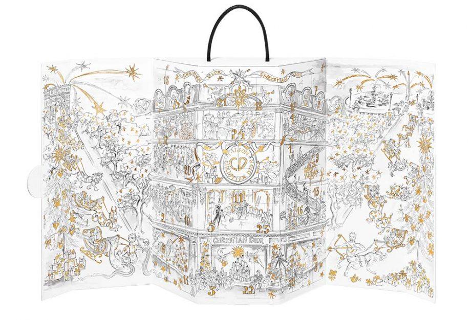 Kalendarz Adwentowy z kosmetykami 2019 Maison Christian Dior Advent Calendar 2019