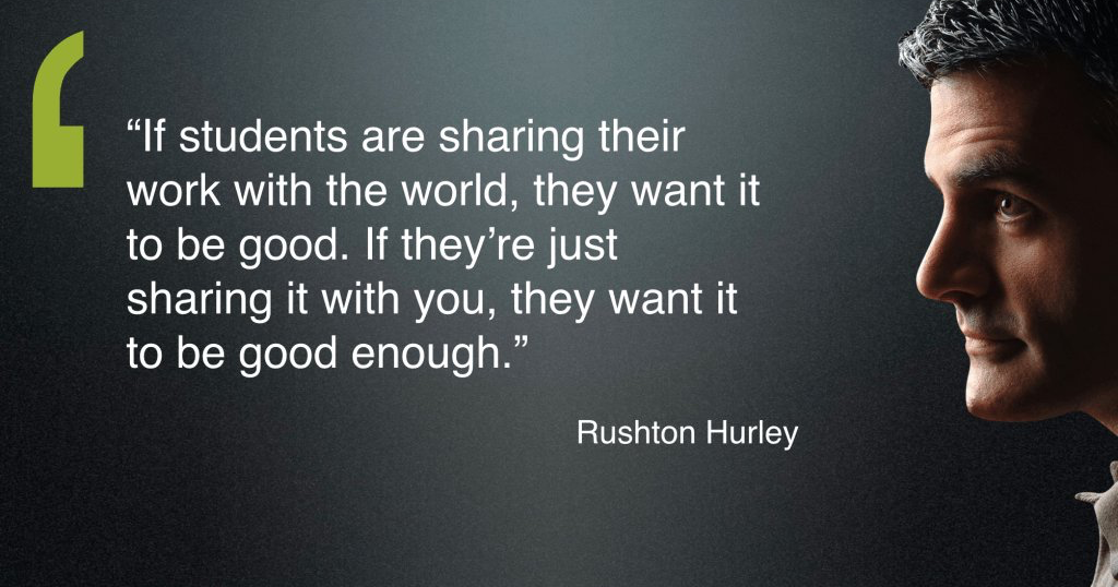 Five ideas to connect your students to an authentic audience.