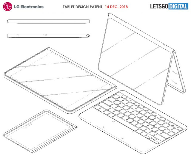 Cover Tablet LG