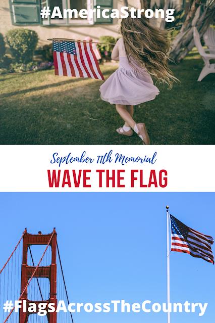 American Flag Girl