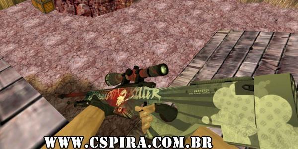 Skin AWP Silent Killer HD - CSPira!