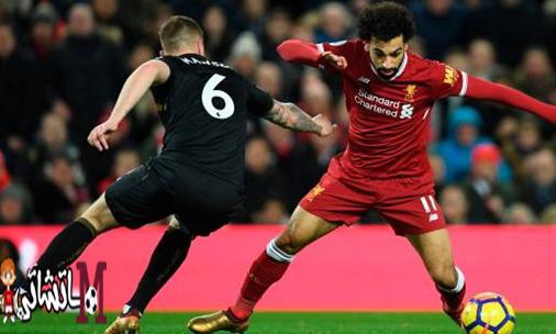 نادي ليفربول يهزم سوانزي سيتي بالخمسة ومحمد صلاح يصنع هدفين