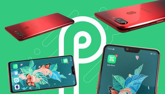 Cara menginstal Android P pada Oppo R15 Pro