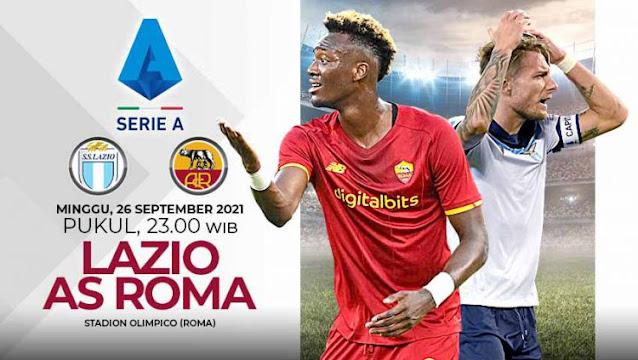 Prediksi Liga Serie A Italia : Lazio vs AS Roma Derby Della Capitale