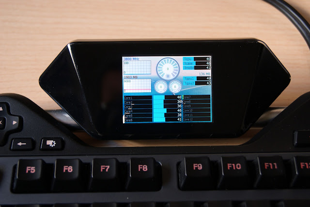 Monitor con AIDA64 para LCD del Logitech G19